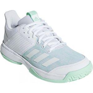 adidas LIGRA 6 YOUTH bílá 4.5 - Dětská volejbalová obuv