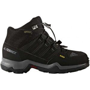 adidas TERREX MID GTX K černá 35 - Dětská outdoorová obuv