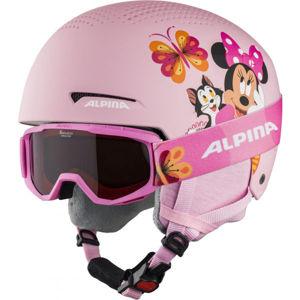 Alpina Sports ZUPO DISNEY SET  (51 - 55) - Dětská lyžařská helma a brýle