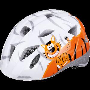 Alpina Sports XIMO oranžová (47 - 51) - Dětská cyklistická helma