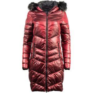 ALPINE PRO RAMA červená L - Dámský kabát