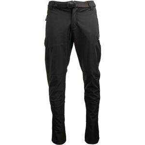 ALPINE PRO LORAL černá 52 - Pánské softshellové kalhoty