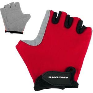 Arcore PKG -163 červená 6 - Dětské cyklistické rukavice