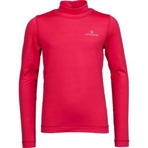 Arcore ZARKO růžová 116-122 - Dětské funkční triko s dlouhým rukávem