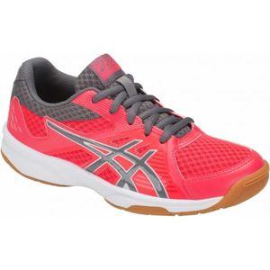 Asics UPCOURT 3 GS červená 6.5 - Dětská volejbalová obuv
