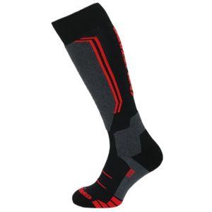 Blizzard ALLROUND WOOL SKI SOCKS červená 35 - 38 - Lyžařské ponožky