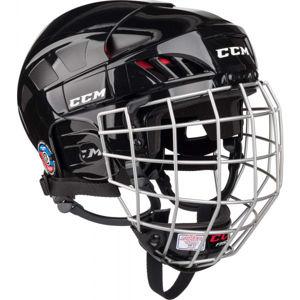 CCM FITLITE 50 COMBO SR BLK  S - Hokejová helma