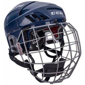 CCM FL60C SR COMBO modrá L - Hokejová helma