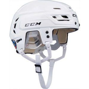 CCM TACKS 110 SR bílá (50 - 54) - Hokejová helma