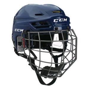 CCM TACKS 310C SR COMBO tmavě modrá S - Hokejová helma