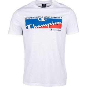Champion CREWNECK T-SHIRT bílá XL - Pánské tričko