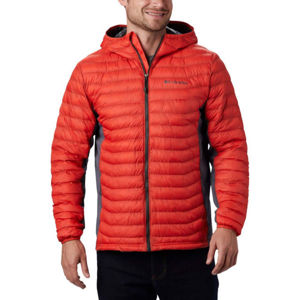 Columbia POWDER PASS HOODED JACKET  XXL - Pánská hybridní bunda