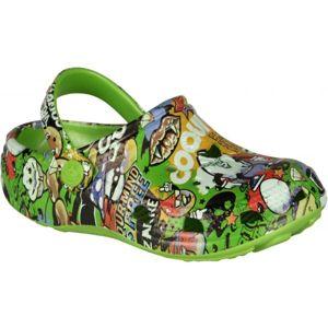 Coqui PRINTED bílá 32/33 - Dětské sandály