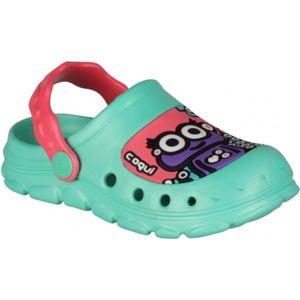 Coqui STONEY zelená 21/22 - Dětské sandály