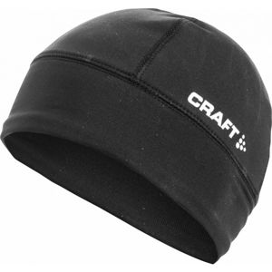Craft LIGHT THERMAL černá S/M - Běžecká čepice