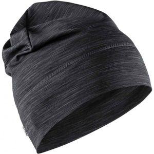 Craft MELANGE JERSEY HIGH černá UNI - Funkční čepice