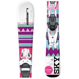 Elan SKY QS + EL 4.5  120 - Dívčí sjezdové lyže