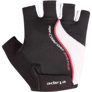 Etape DRIFT červená S - Pánské cyklistické rukavice