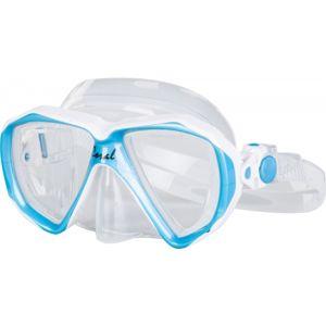 Finnsub CORAL JR MASK modrá NS - Juniorská potápěčská maska