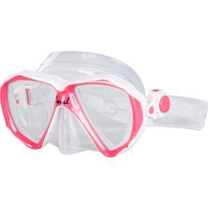 Finnsub CORAL JR MASK růžová NS - Juniorská potápěčská maska