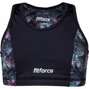 Fitforce SNOOTY  140-146 - Dívčí fitness podprsenka