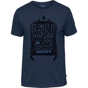 Fjällräven KANKEN T-SHIRT tmavě modrá M - Pánské triko