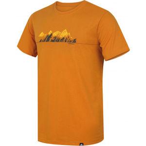 Hannah BITE žlutá S - Pánské funkční tričko
