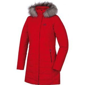 Hannah WAIANA červená 38 - Dámský zimní kabát