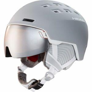 Head RACHEL šedá (56 - 59) - Dámská lyžařská helma