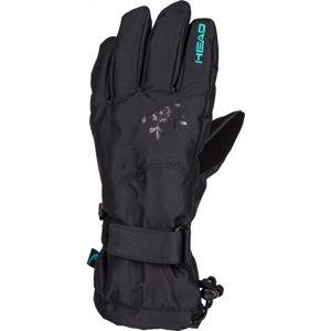 Head GLEN černá L - Dámské lyžařské rukavice