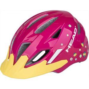 Head KID Y11A růžová (47 - 52) - Dětská cyklistická helma