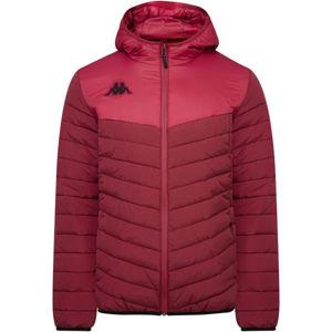 Kappa 4 SOCCER DOCCIO červená S - Pánská zimní bunda