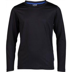 Kensis GUNAR JR černá 116-122 - Chlapecké technické triko