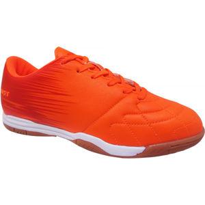 Kensis FLINT IN oranžová 31 - Juniorská sálová obuv