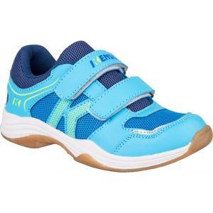 Kensis WIGO modrá 25 - Dětská sálová obuv
