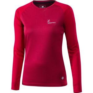 Klimatex LIANA červená L - Dámské běžecké triko