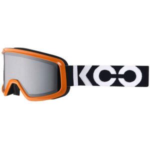 KOO ECLIPSE oranžová NS - Lyžařské brýle