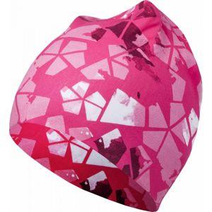 Lewro BELLSPROUT růžová 4-7 - Dětská čepice