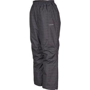 Lewro ELISS šedá 140-146 - Dětské zateplené kalhoty
