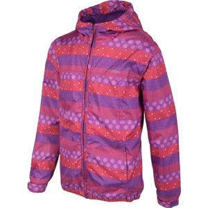 Lewro LOLO 116 - 134 růžová 116-122 - Dívčí šusťáková bunda