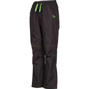 Lewro NINGO šedá 140-146 - Dětské zateplené kalhoty