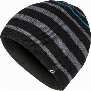 Lewro OLAFSON šedá 12-15 - Chlapecká pletená čepice