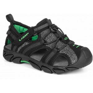 Loap INDER černá 28 - Dětské sandály