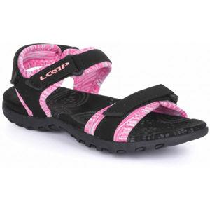Loap KETTY JR růžová 29 - Dětské sandály