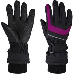 Loap RENKO růžová 6 - Dětské zimní rukavice