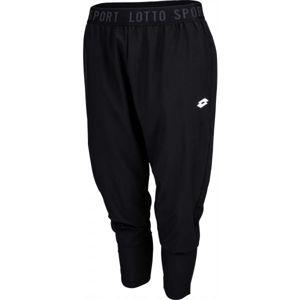 Lotto VABENE W II PANT PL černá XS - Dámské kalhoty