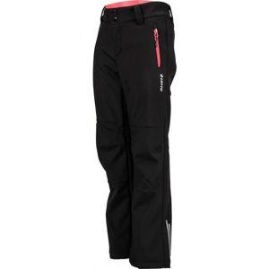 Lotto DAREK černá 116-122 - Dětské softshellové kalhoty