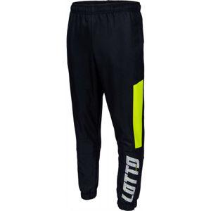 Lotto LOGO III PANT CUFF DB černá XL - Pánské šusťákové kalhoty