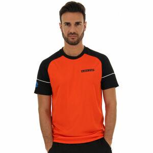 Lotto LOGO V TEE RGL PL  XXL - Pánské sportovní triko