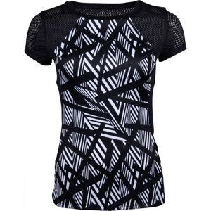Lotto VABENE W II TEE PL černá XS - Dámské fitness tričko